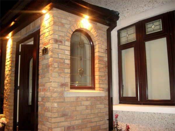 Full front redesign including porch built by Old Craft General Building, Dublin - for all your home building needs including extensions, brickwork, arches & attic conversions.